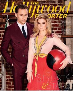 "ilariaurbinati: ""This day last year.... Power Stylist issue #TheHollywoodReporter #TomHiddleston #Gucci (https://www.instagram.com/p/BgUrZiOhCaS/ )"