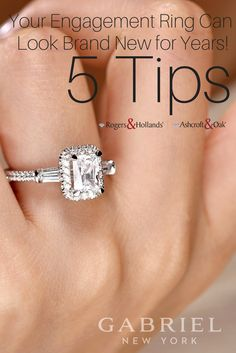 Your Engagement Rings Can Look Brand New for Years!