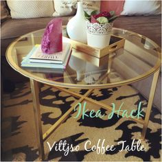 I had been thinking about doing the Vittsjo Coffee Table Hack I have seen many people doing on Pinterest for a while now. I finally got to Ikea to buy the coffee table, and while I was there I...