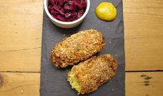 Felicity Cloake: Are vegetarian sausages ever as good as their meaty counterparts, and is there a better veggie variety than the cheese- and leek-filled glamorgan? Veggie Sausage, Sausage Recipes, Veggie Recipes, Vegetarian Recipes, Cooking Recipes, Vegetarian Burgers, Veggie Burgers, Veggie Food, Fun Easy Recipes