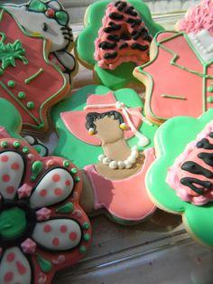Alpha Kappa Alpha cookies