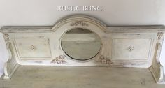 Ornamental Mouldings, Bling, Rustic, Ornaments, Mirror, Creative, Handmade, Inspiration, Home Decor