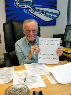 Yes, Stan Lee, you are AWESOME!