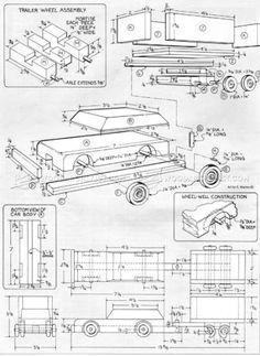 Image result for car trailer plans trailer chassis pinterest pedal car blueprints plans sk malvernweather Images