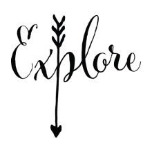 Calligraphy Discover Sale Explore Yeti Decal Die Cut Vinyl Car Decal Sticker For Car Window Bumper Sticker Truck Laptop Walls Computer Kids Women Men Frases Mary Kay, Machine Silhouette Portrait, Yeti Decals, Vinyl Decals, Vinyl Wall Quotes, Inspirational Wall Decals, Arrow Tattoos, Vinyl Projects, Silkscreen