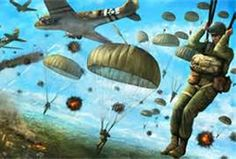 paratroopers - Bing Images Airborne Army, Army Infantry, Military Art, Military History, Sun Tzu, Pictures Of Soldiers, Remembrance Day Art, Indian Army Special Forces, War Tattoo