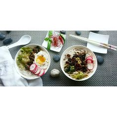 "29 Likes, 4 Comments - Fabiana Fiesmann (@fabianabug) on Instagram: ""#asian #soup #noodles #mushrooms #poachedegg #misosoup #miso #salad #vegetarian #instafood…"""