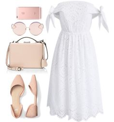 White is a plain canvas and not everything needs elaborate embellishment as it's important to spend time in simplicity. Kpop Fashion Outfits, Girly Outfits, Classy Outfits, Pretty Outfits, Casual Outfits, Womens Fashion, Mode Plus, Modest Wear, Mode Chic