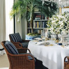 Jamaica Wicker Dining Chair - Dining Chairs - Furniture - Products - Ralph Lauren Home - RalphLaurenHome.com