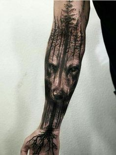 Wolf tattoo design ideas for men and woman Wolf Tattoos Men, Leg Tattoos, Body Art Tattoos, Cool Tattoos, Trendy Tattoos, Calf Tattoos For Guys, Mens Leg Tattoo, Tattoo Guys, Flame Tattoos