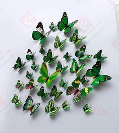 Butterfly Magnet & Wall Stickers DIY Fridge Home Room Party Decoration Butterfly Party, Magnetic Wall, Diy Stickers, Craft Gifts, Magnets, Home Goods, Crafts, 3d, Kitchen Dining