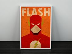 Hey, I found this really awesome Etsy listing at https://www.etsy.com/listing/252890444/flash-minimalist-vintage-poster