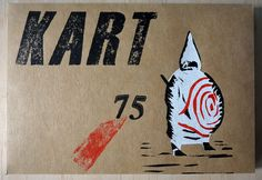 The 75th issue of KART, an instant art collection in a box! Ubu Roi by Alfred Jarry was first performed in Paris in December 1896, causing an outrage and closing the same day. To celebrate the 120th anniversary of this groundbreaking work of absurdist theatre, Ubu Roi himself appears on the cover of this edition...