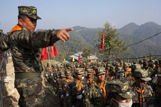 Myanmar Adds 6,000 Troops to Border With India