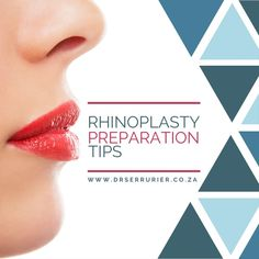 In the weeks prior to #rhinoplasty the patient should prepare their body for the changes that will occur. Taking some simple steps to stay healthy before and after surgery will go a long way to enable a good recovery...  For more information or to schedule a consultation call Dr Serrurier on 011 328 0773. Alternatively email admin@drserrurier.co.za or send us a private message.  #CosmeticSurgery #PlasticSurgery #DrSerrurier #DrCharlesSerrurier #NoseJob