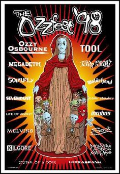 Ozzfest 98: The first and last time I went to Ozzfest. Would love to go again. Don't believe it exists anymore though.