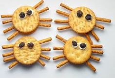 Image result for healthy halloween snacks