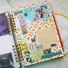 """*RadishBlossoms*: """"Junk Journal"""" Pages"""