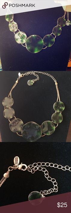 Gorgeous And Unique! Pilgrim DD Green Choker This is a very unique piece. Created by Danish Designs Pilgrim- this Choker is definitely a statement piece. From dress up to casual. You definitely want this! Pilgrim Jewelry Necklaces