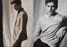 Mathias Lauridsen Dons Linen Styles for Club Monaco image Club Monaco Mathias Lauridsen 002