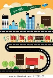 Image result for graphic city scape