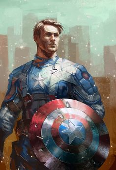 The First Avenger by Richard Michaud  More Comic Art @ http://groups.google.com/group/Comics-Strips & http://groups.yahoo.com/group/ComicsStrips ~Inge~ @ http://www.facebook.com/ComicsFantasy & http://www.facebook.com/groups/ArtandStuff