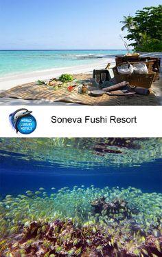 Soneva Fushi Resort, Kunfunadhoo Island #Hotel #Resort #Maldives