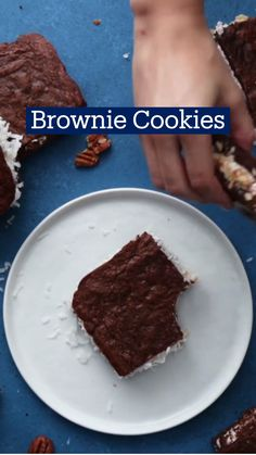 Brownie Recipes, Cookie Recipes, Dessert Recipes, Just Desserts, Delicious Desserts, Yummy Food, Fun Baking Recipes, Sweet Recipes, Tastemade Recipes