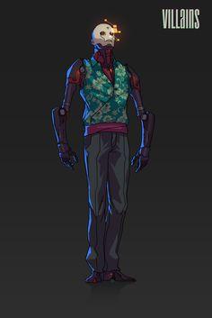 Beyond Human Villains, Michał Sowa Robots Characters, Fantasy Characters, Comic Character, Character Concept, Superhero Stories, Robot Concept Art, Superhero Design, Cyberpunk Art, Character Creation