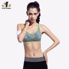[AP]Women Sports Bra For Running Gym Fitness Padded Wire free Underwear Push Up Seamless Shakeproof Top Bras Woman Summer Style