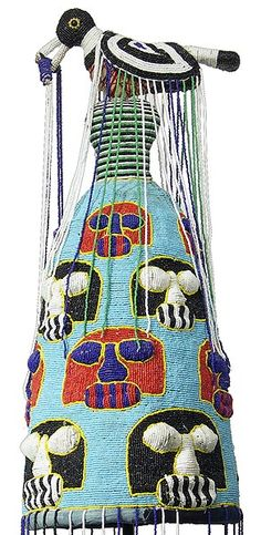 Yoruba Beaded Crowns, Nigeria #Culture, #Nigeria