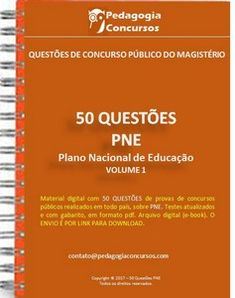 50 Questões PNE Fairy Tales For Kids, Study Hard, English Class, Educational Games, High School, Messages, App, Leis, Wicca