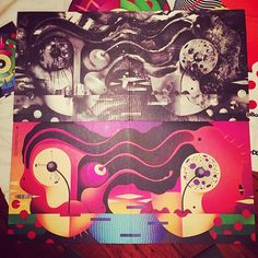 The @faltydl gatefold vinyl is out now. Beautifully designed by La Boca