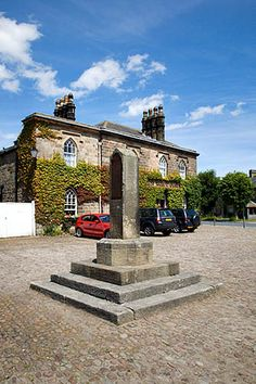 War Memorial and The Boars Head Ripley North Yorkshire England, via Flickr.
