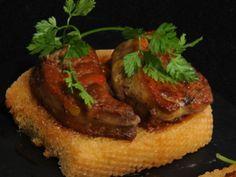 Receta   Foie a la plancha sobre salsa de pomelo y miel - canalcocina.es