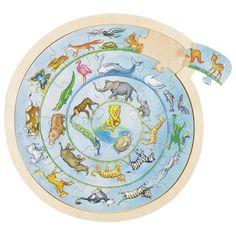 Animal's Circle puzzle