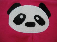Panda face for abby's team shirt :)