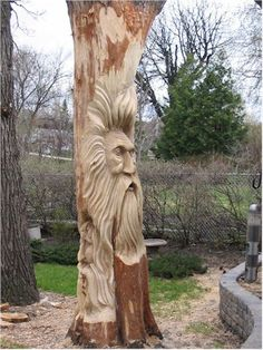 Wood Tree Spirit | Wood Spirits