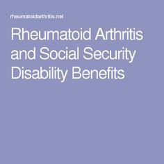 Rheumatoid Arthritis and Social Security Disability Benefits