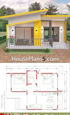 Small House Layout, Small House Design, House Layouts, House Layout Plans, Sims House Plans, Modern House Plans, Small House Plans, Tiny Home Floor Plans, Little House Plans
