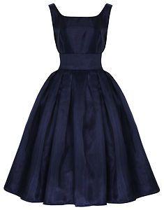 NEW LINDY BOP 'LANA' CLASSIC ELEGANT VINTAGE 1950's PROM DRESS BALL GOWN FIFTIES | eBay