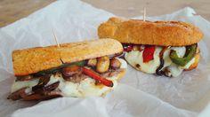 Philadelphia cheese steak szendvics #Philly #sandwich