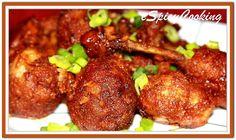 Indo-Chinese Chicken Lollipop