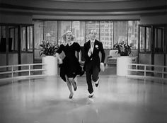 Ginger Rogers and Fred Astaire in Swing Time (George Stevens, 1936). One of the reasons for being alive.