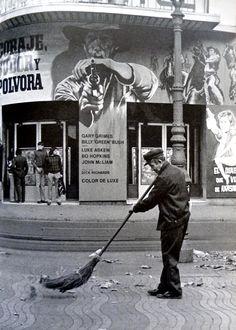 Can Pistoles - Cinema Capitol. 1960 - La Rambla. Barcelona. Catalunya.