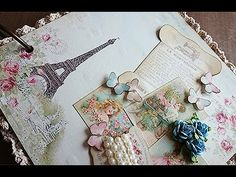 This mini album is a little out of my normal style, but I just love Paris & I know you guys do too! Buy this mini album in my Etsy shop: https://www.etsy.com...