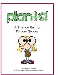 This unit plan is perfect for a plant unit in kindergarten, first, or second grade. What's included in this unit:- Unit planner for 10 days o...