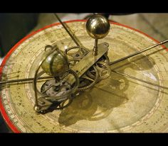 Victorian orrery oxford musuem