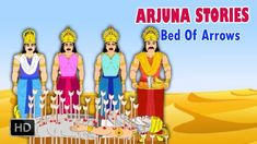 Arjuna Stories - Bed Of Arrows - Short Stories from Mahabharat