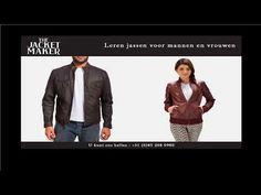 Leren jassen voor mannen en vrouwen